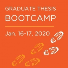 Graduate Thesis Boot Camp promotional image