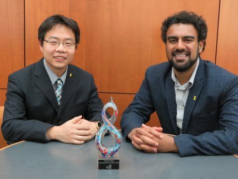 award winners gurjap singh & qinghua wang